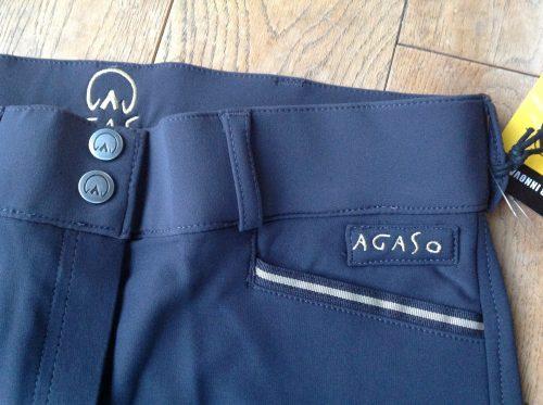 Agaso Cambridge breeches regular leg length in navy