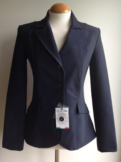 For Horses Yakie show jacket in navy