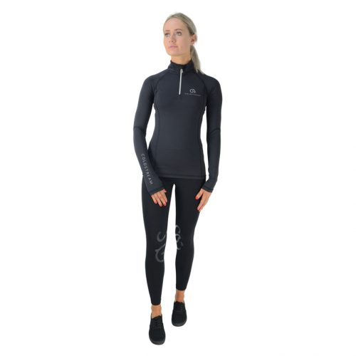 Coldstream Lennel base layer in black