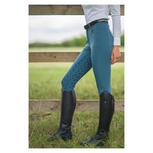 HyPerformance Merlewood breeches in marine green
