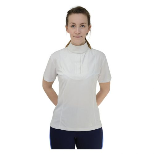 HyPerformance Downham show shirt in white