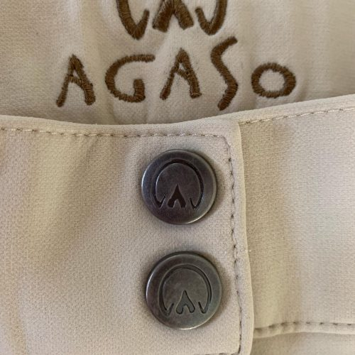 Agaso Cambridge breeches regular leg length in beige