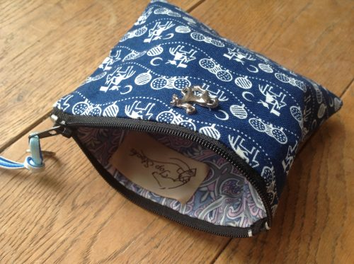 Coin purse - horse and rider design
