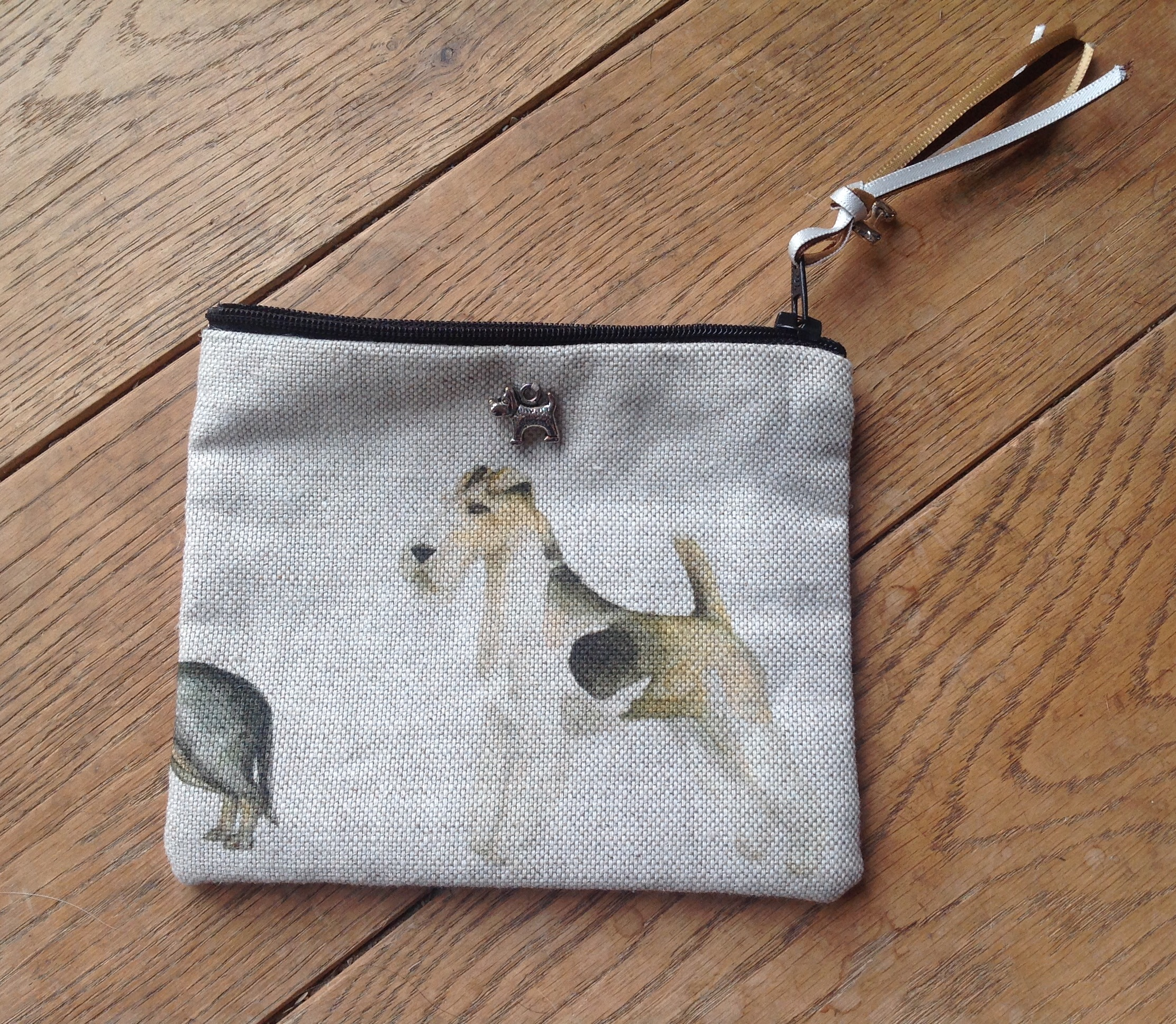 Coin purse - Voyage Walkies design