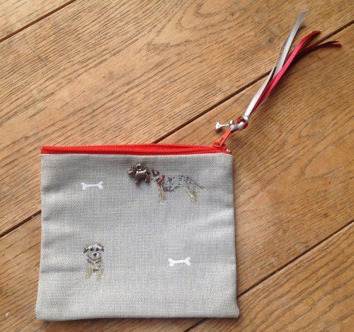 Coin purse - Sophie Allport Border Terriers design