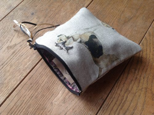 Coin purse - Voyage Hounds design