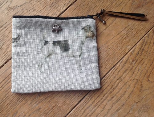 Coin purse - Voyage Eddie and Teddy Jack Russell terrier print