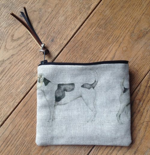 Coin purse - Voyage Eddie and Teddy Jack Russell terrier design