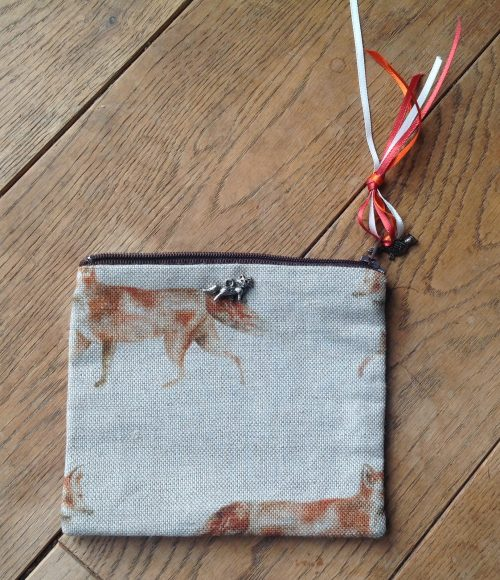 Coin purse - Voyage fox design