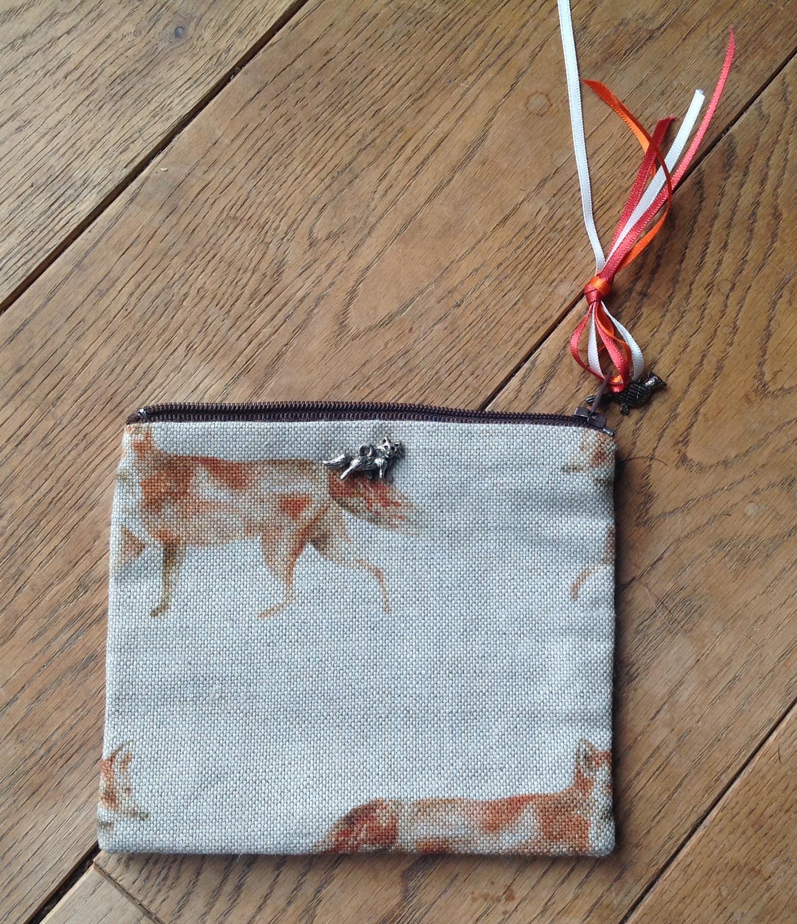 Coin purse - Voyage fox design
