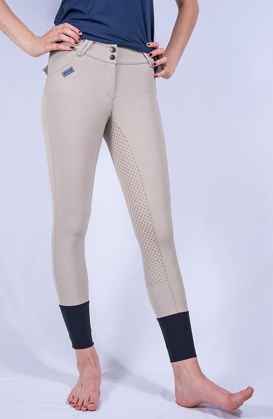 ForHorses Winnie breeches in dove grey