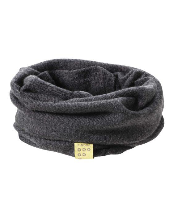 Findra Betty neckwarmer in charcoal