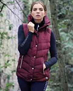 Coldstream Kimmerston quilted gilet in Windsor wine