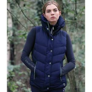 Coldstream Kimmerston quilted gilet in navy