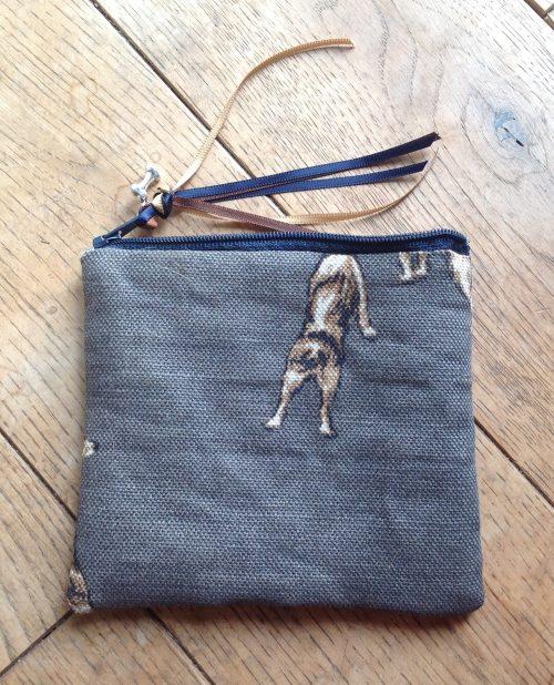 Coin purse - Emily Bond Parsons terriers design