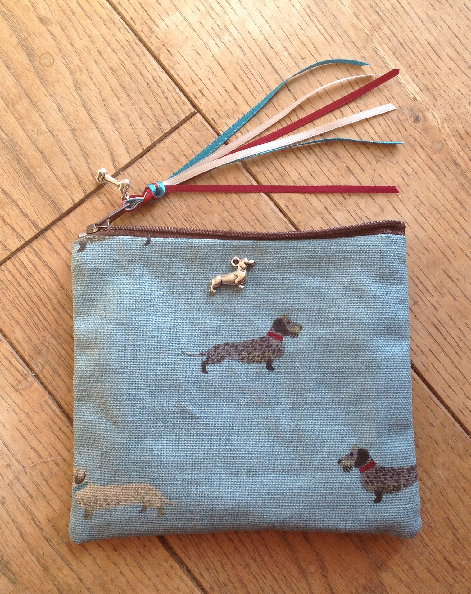 Coin purse - Sophie Allport WH daschunds design
