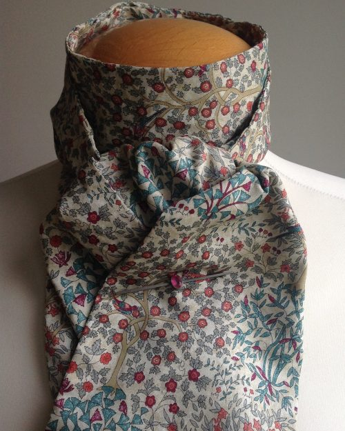 Shaped to tie Liberty tana lawn stock - Jess and Jean floral