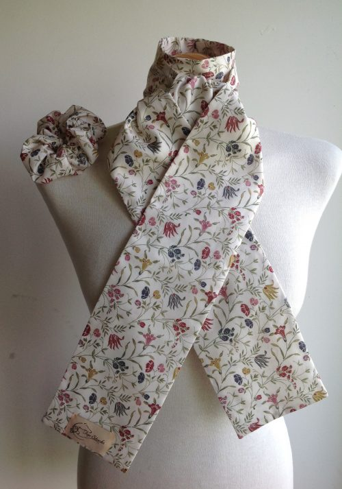 Shaped to tie Liberty tana lawn stock - Belsize Park red multi